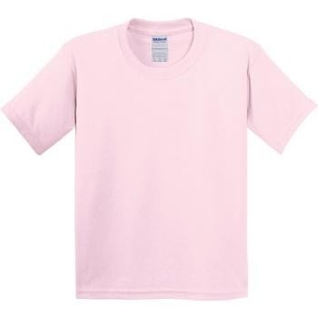 textil Barn T-shirts Gildan 5000B Ljusrosa