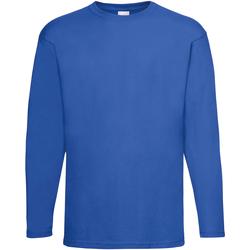 textil Herr Långärmade T-shirts Universal Textiles 61038 Kobolt