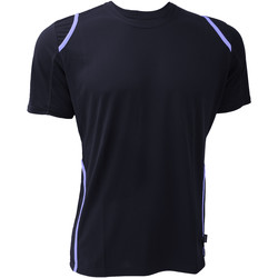 textil Herr T-shirts Gamegear Cooltex Marinblått/ljusblått