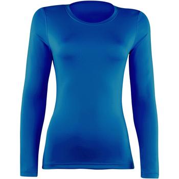 textil Dam Långärmade T-shirts Rhino  Kungliga