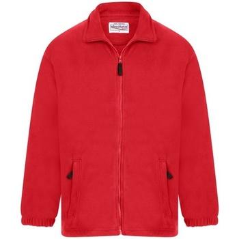 textil Herr Fleecetröja Absolute Apparel  Röd