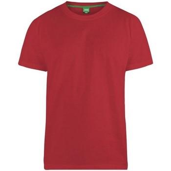 textil Herr T-shirts Duke  Röd