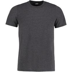textil Herr T-shirts Kustom Kit KK504 Mörkgrå marl