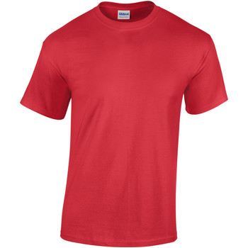 textil Barn T-shirts Gildan 5000B Röd