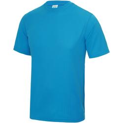 textil Barn T-shirts Awdis JC01J Safirblå