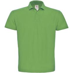 textil Dam Kortärmade pikétröjor B And C PUI10 Riktigt grönt