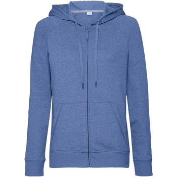 textil Dam Sweatshirts Russell J284F Blå marl