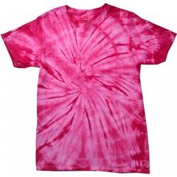 textil Barn T-shirts Colortone Spider Spindelrosa