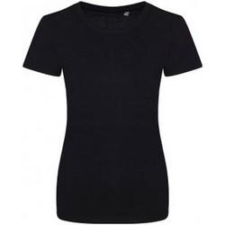 textil Dam T-shirts Ecologie EA01F Jet Black