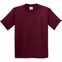 textil Barn T-shirts Gildan 5000B Maroon