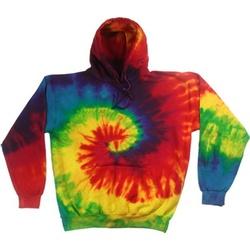 textil Herr Sweatshirts Colortone TD31M Regnbåge