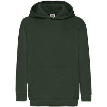 textil Barn Sweatshirts Fruit Of The Loom 62043 Flaskegrön