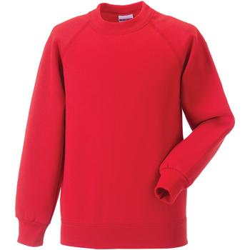 textil Barn Sweatshirts Jerzees Schoolgear 7620B Ljusröd