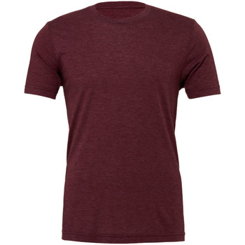 textil Herr T-shirts Bella + Canvas CA3413 Maroon Triblend