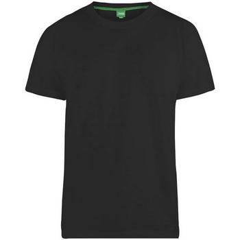 textil Herr T-shirts Duke  Svart