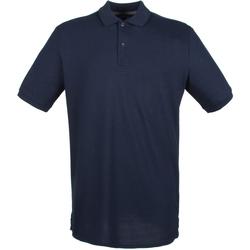 textil Herr Kortärmade pikétröjor Henbury HB101 Oxford Navy