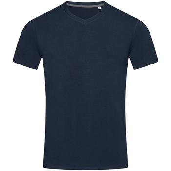 textil Herr T-shirts Stedman Stars Clive Marina Blue