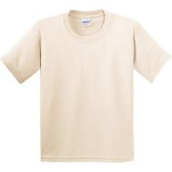 textil Barn T-shirts Gildan 5000B Naturligt