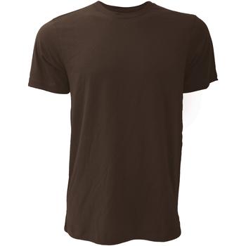 textil Herr T-shirts Bella + Canvas CA3001 Brun