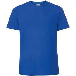 textil Herr T-shirts Fruit Of The Loom 61422 Kungliga