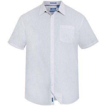 textil Herr Kortärmade skjortor Duke  Vit