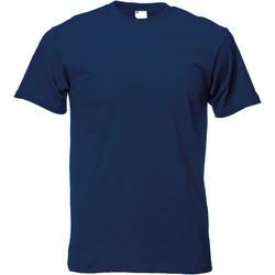 textil Herr T-shirts Universal Textiles 61082 Marinblått