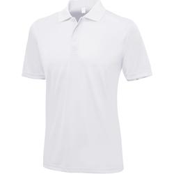 textil Herr Kortärmade pikétröjor Awdis Smooth Arctic White