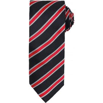 textil Herr Slipsar och accessoarer Premier PR783 Svart/röd