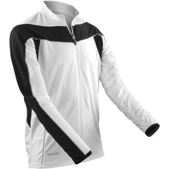 textil Herr Sweatjackets Spiro S255M Vit / svart