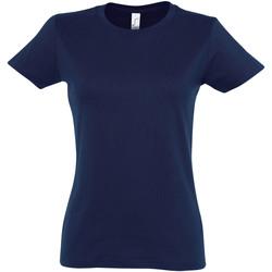 textil Dam T-shirts Sols 11502 Franska flottan