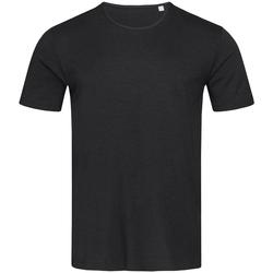 textil Herr T-shirts Stedman Stars Shawn Svart opal