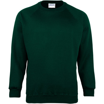 textil Herr Sweatshirts Maddins MD01M Flaskegrön