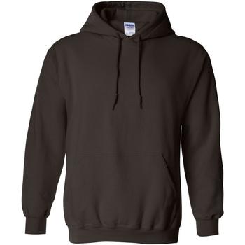 textil Sweatshirts Gildan 18500 Mörk choklad
