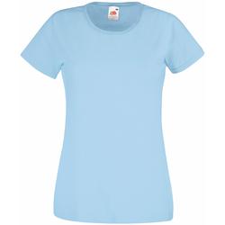 textil Dam T-shirts Universal Textiles 61372 Ljusblå