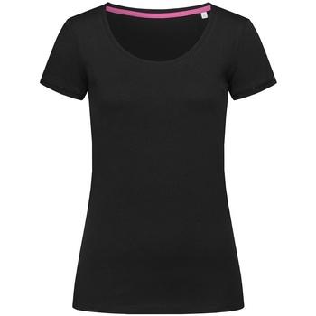 textil Dam T-shirts Stedman Stars  Svart opal