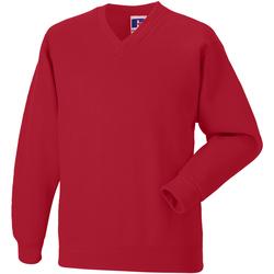 textil Barn Sweatshirts Jerzees Schoolgear 272B Ljusröd
