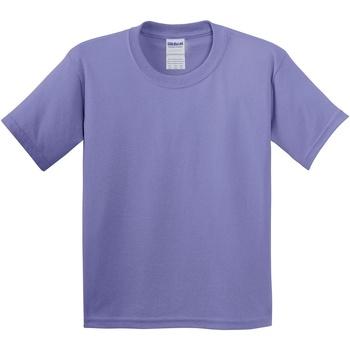 textil Barn T-shirts Gildan 5000B Violett