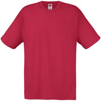 textil Herr T-shirts Universal Textiles 61082 Mörkröd