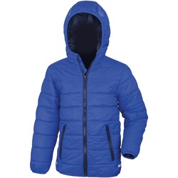 textil Barn Täckjackor Result R233JY Kunglig/marinefärgad
