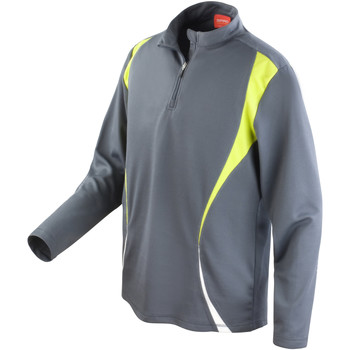 textil Dam Sweatshirts Spiro S178X Antracit/Lime/White