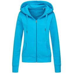 textil Dam Sweatshirts Stedman  Hawaii Blue