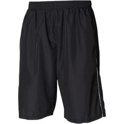 textil Herr Shorts / Bermudas Tombo Teamsport Longline Svart/vit