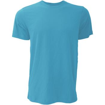 textil Herr T-shirts Bella + Canvas CA3001 Heather Aqua