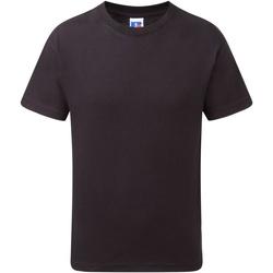 textil Pojkar T-shirts Jerzees Schoolgear J155B Svart