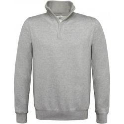 textil Herr Sweatshirts B And C ID.004 Grått