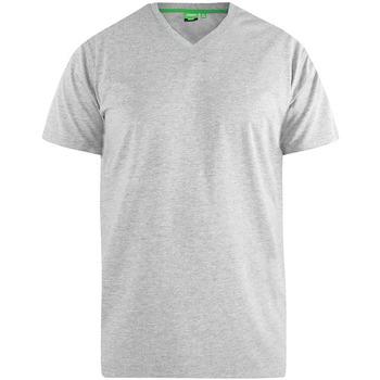 textil Herr T-shirts Duke  Grå melange