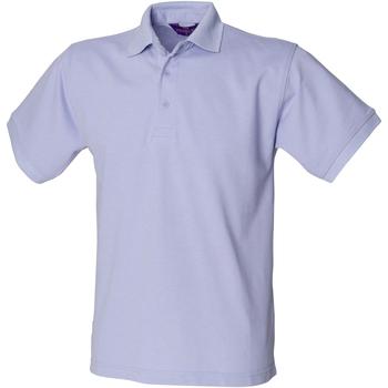 textil Herr Kortärmade pikétröjor Henbury HB400 Lavendel