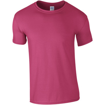 textil Herr T-shirts Gildan Soft-Style Heliconia
