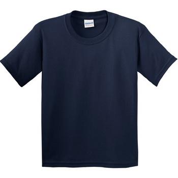 textil Barn T-shirts Gildan 5000B Marinblått