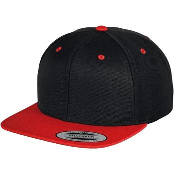 Accessoarer Keps Yupoong YP002 Svart/röd